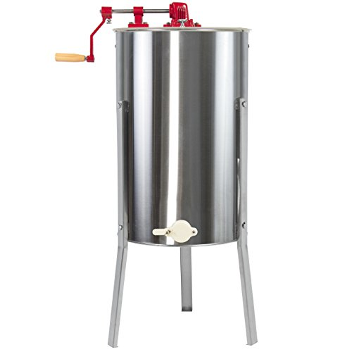 Best Choice Products 2 Frame Stainless Steel Large Honey Extractor...