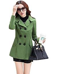 Amazon.com: Greens - Wool & Blends / Wool & Pea Coats: Clothing ...