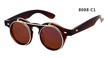 GCR Sonnenbrille Schatten Polarisierende Brille Mickey Maus Flip Herren Sonnenbrillen , C4