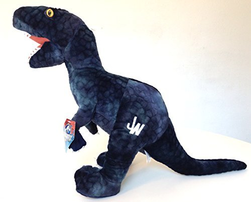 Universal Studios Jurassic World Park Blue Raptor Dinosaur Plush Stuffed Animal 20