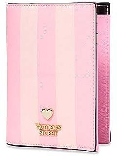 Victorias Secret Funda Pasaporte y Tarjetas, clásica Rosa a Rayas: Amazon.es: Equipaje