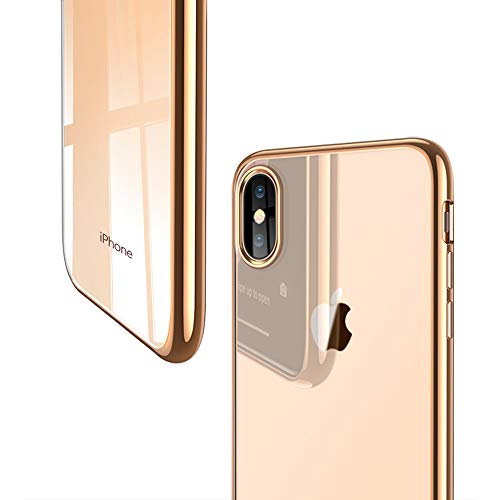 ESR Slim Clear Soft TPU Case for iPhone Xs/iPhone X, Soft Flexible Cover Compatible for 5.8 inch(2017 & 2018 Release)(Champagne ()