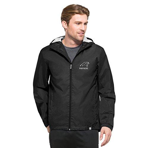 Nice Carolina Panthers Full Zip Hoodie, Panthers Full Zip Sweatshirt  free shipping