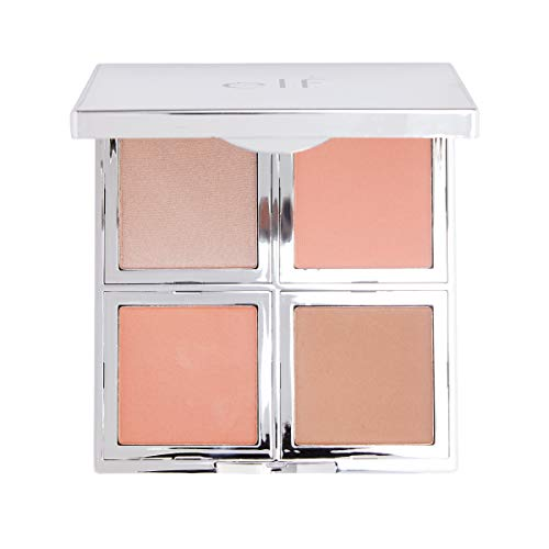 Elf 96004 Bb Total Face P Size .56 O Elf 96004 Beautifully Bare Total Face Palette 0.56oz (Best Face Highlighter 2019)