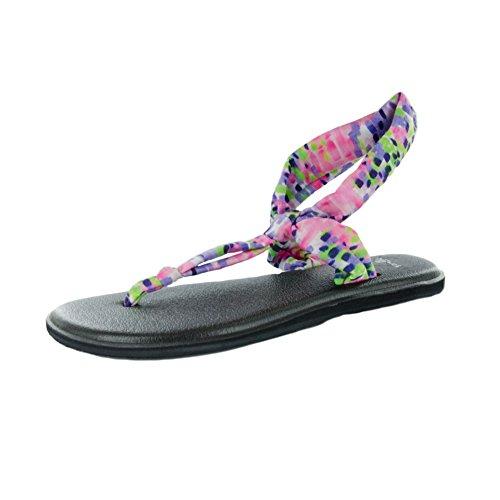 Sanuk Yoga Sling Ella Prints Sandals Iris Rain sDzTtpiyZ