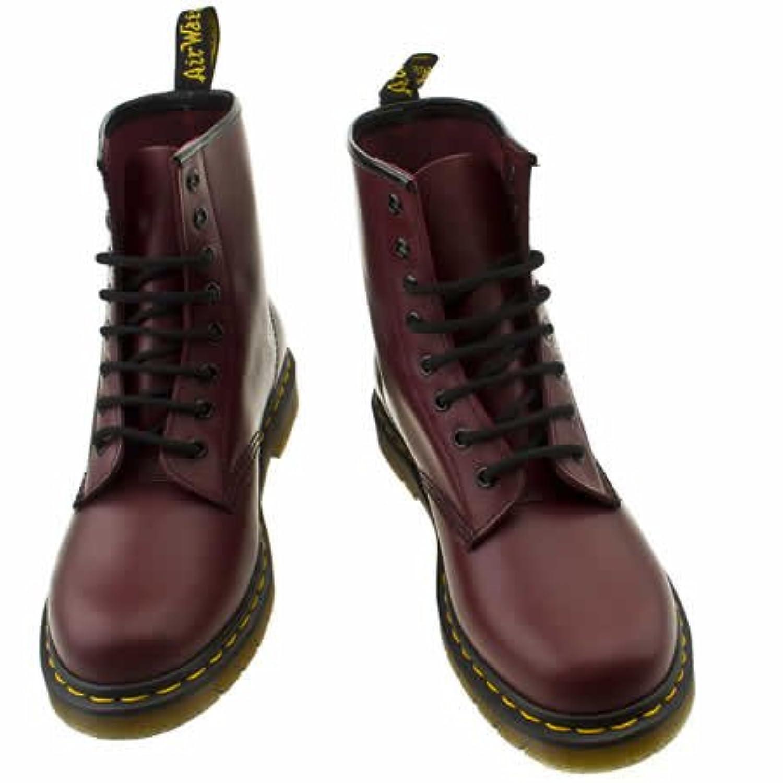 Dr Martens 8 Tie - 4 Uk - Burgundy - Leather