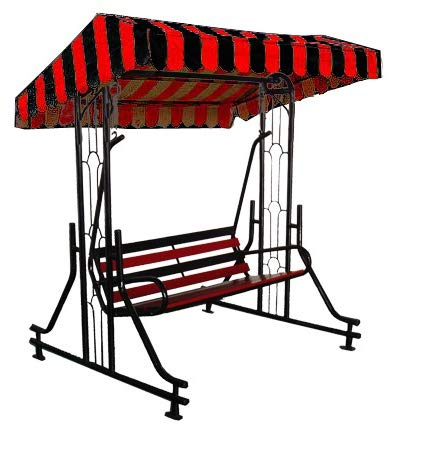 Kaushalendra Garden Swing Outdoor Frame With Canopy Roof 2 Seater High Strong Iron 300 kg. Capacity product image