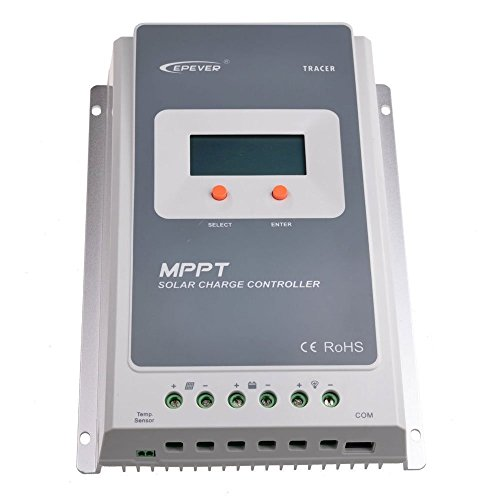 EPEVER 20A MPPT Solar Charge Controller Tracer A 2210A Solar Charge With LCD Display