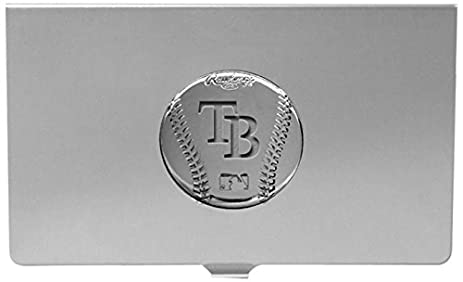 Amazon mlb tampa bay rays engraved business card holder sports mlb tampa bay rays engraved business card holder reheart Images