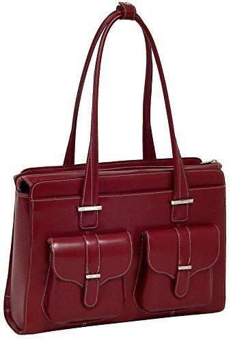 McKlein USA Alexis Genuine Leather Women's Briefcase - 15.6