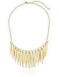 Rebecca Minkoff Womens Needle Statement Collar Necklace