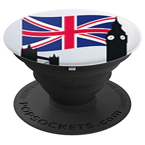 UK Popsocket Flag London City,Tower Bridge,Big Ben,...