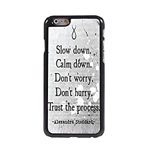 LIMME Trust the Process Design Aluminum Hard Case for iPhone 6
