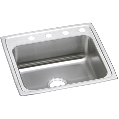 - Elkay PSR22193 Celebrity Single Bowl Drop-in Stainless Steel Sink