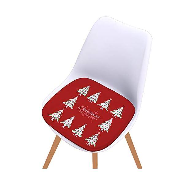 Fablcrew Cuscini per sedie, Morbido Cuscino per Sedia Cuscino Sedia Cucina da Giardino, per Cuscino Auto, Cuscino per… 3 spesavip