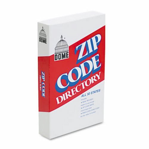 Dome Zip Code Directory, Paperback, 750 Pages ()