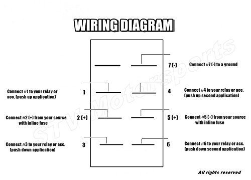 7 Pin    Rocker       Switch       Wiring       Diagram    Winch     Wiring       Diagram