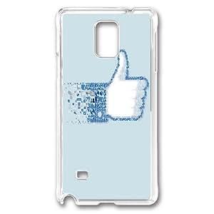 Custom Samsung Galaxy Note 4 Case,Good logo Transparent Samsung Galaxy Note 4 Cases