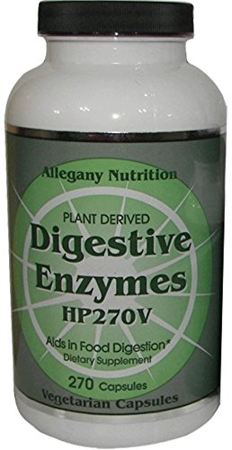 Allegany Nutrition Digestive Enzymes – 270 Count