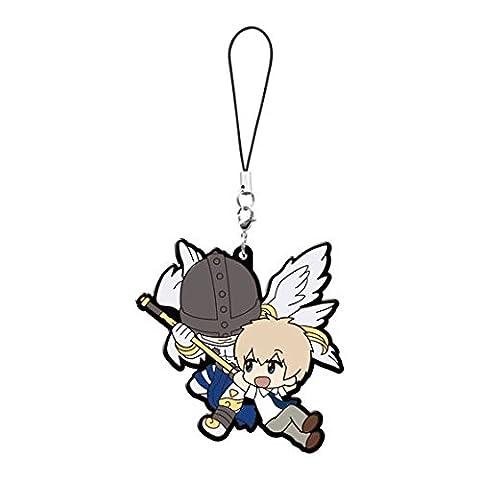 Digimon Adventure Tri: Takeru and Angemon Pvc Keychain (Digimon Miniatures)