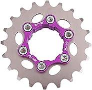 NEWMIND Steel Single Speed Cassette Cog MTB Fixed Gear Bike Bicycle Adapter 10/11S HG Hub Freehub Freewheel Lo