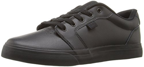 DC Men's Anvil se Skateboarding Shoe, Black, 12 D D US