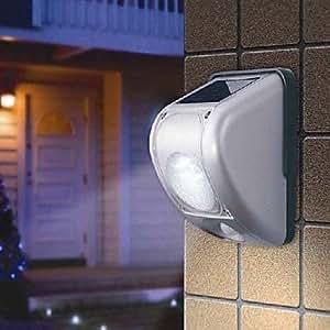 6PCS White LED PIR Motion Sensor Solar Wall Light £¨TYN)