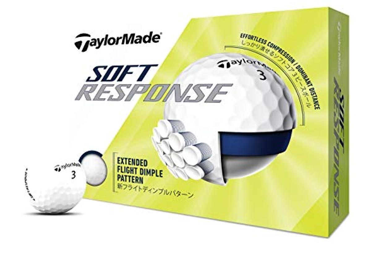 [해외] 테일러메이드(TAYLOR MADE) SOFT RESPONSE(소프트 Response) 12P M7179101 화이트