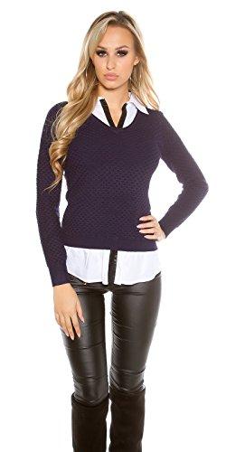 KouCla - Pull - Femme Taille unique Marine