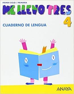Cuaderno de Lengua 4 (Me llevo tres): Amazon.es: María José Sáenz de Urturi Montemayor, María de los Ángeles González Soler: Libros