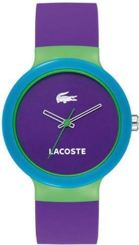ラコステ Lacoste Goa Purple Dial Purple Rubber Unisex ユニセックス 男女兼用 Watch 2020005 時計 腕時計 [並行輸入品]