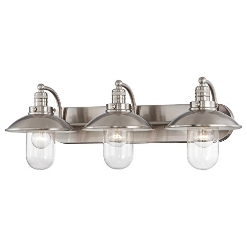 Minka Lavery 5133-84 Three Light Bath - Minka Lavery Vanity Lighting