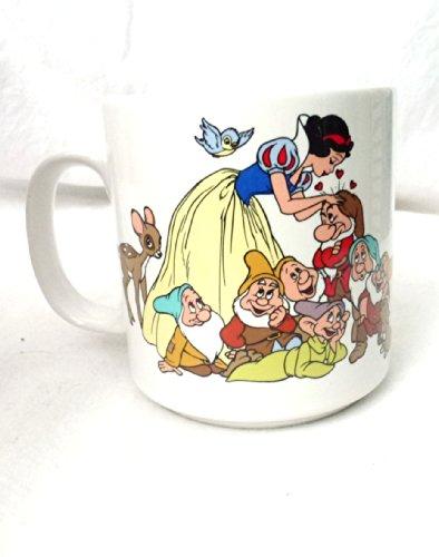 (Applause Wallt Disney's Snow White and the Seven Dwarfs Vintage Ceramic Mug)