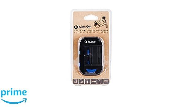 SilverHT 9708 - Cargador universal de baterías, color negro ...