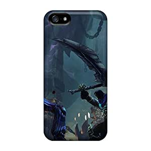 Iphone 5/5s Case Cover Skin : Premium High Quality Darksiders 2 Scythe Case