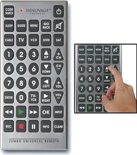 Innovage Jumbo Remote Control (Jumbo Tv Remote Control)