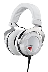 beyerdynamic Custom One Pro Plus Headphones with Accessory Kit and Remote Microphone Cable, White