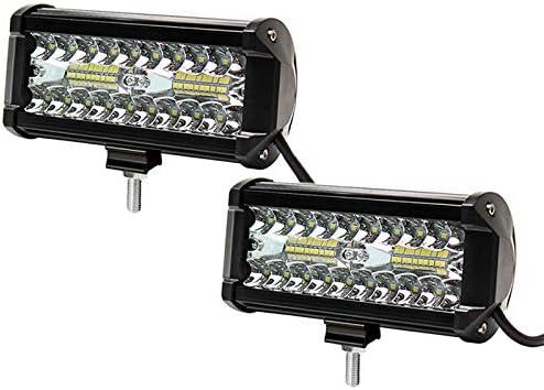 """7 /"""" 36W LED Work Light Bar Spot Driving Fog Headlight Offroad Jeep Truck SUV MA"""
