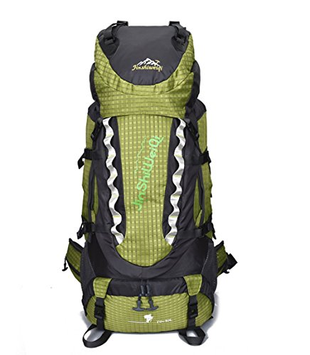 OSOPOLA Large 80L Hiking Camping Outdoor Sports Backpack Water Resistance Daypack Traveling Racksuck for Men Women with External Frame