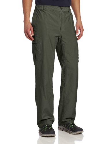 Columbia Men's Crested Butte Cargo Pant, Gravel, Large 34