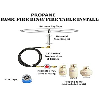 Amazon Com Fr12ck Complete 12 Quot Basic Fire Pit Kit 316