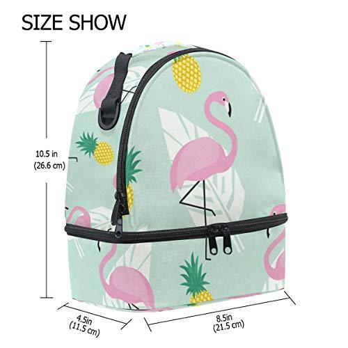 de FOLPPLY térmica para piña correa diseño Bolsa el Flamingo con hombro ajustable ApqHBw