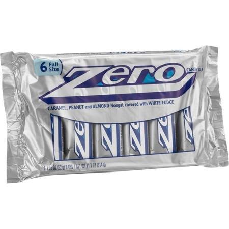 (Zero Candy Bars, 1.85 oz, 6 count)