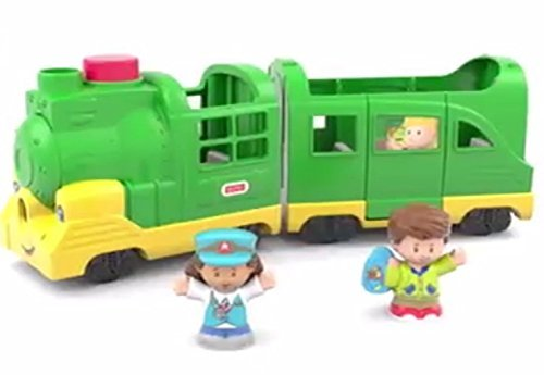 Fisher-Price Little People Friendly Passengers (Passenger Train Transportation)