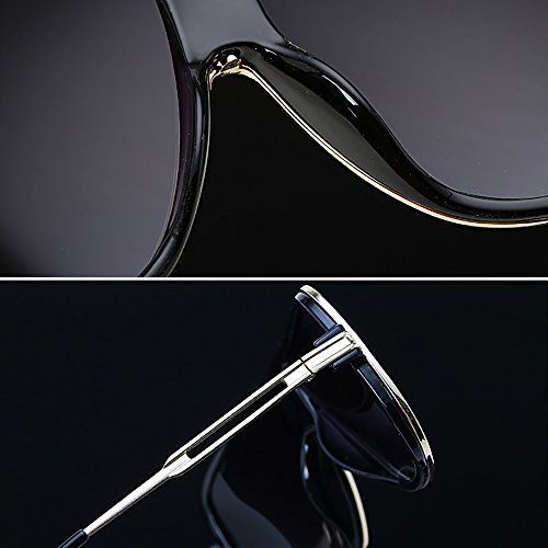 retro 80s Unisex de gafas de Gafas Azul espejo clásicas del de las los aviador hombres de sol del sol Fgwqatg