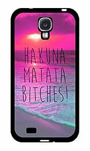 Trendy Hakuna Matata Bitches - 2-Piece Dual Layer Phone Case Back Cover Samsung Galaxy S4 I9500