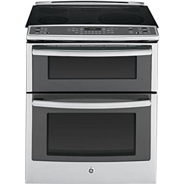 GE PS950SFSS 30  6.6 cu. ft. Capacity Slide-In Double Oven Electric Range In Stainless Steel