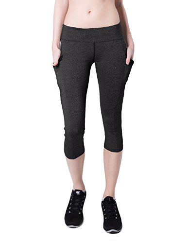 Baleaf Womens Workout Capris Leggings