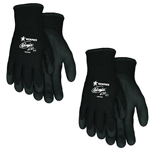 MCR Safety Memphis N9690XL Ninja Ice Mechanic/Ice Fish Glove, Size Extra Large (2 Pair)