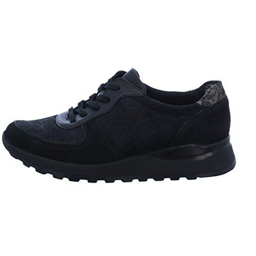 lacets 771 de Noir H64001 412 à ville Waldläufer Chaussures pour femme I4Z0EwqnSx